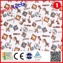 ECO-friendly cheap lycra fabric sublimation printing for children