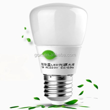 China manufacturers e27 3w 5w 9w led bulb plastic housing with long lifespan