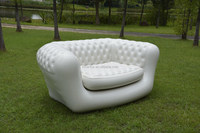 Inflatable Air bed Mattress Lounge Sofa 2 Seater Queen Size Electric Pump
