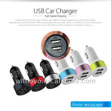 3.1A car charger cigarette lighter adapter for apple iphone car charger for Samsung Note 2 most car charger