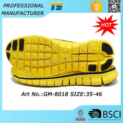 Best Selling Non-slip Rubber Shoe Sole Material