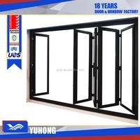 aluminum profile high quality folding workshop door
