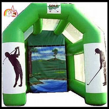 Mini inflatable golf game /inflatable shooting sport