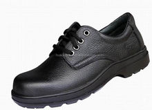 2015 new anti-static genuine leather safety shoes