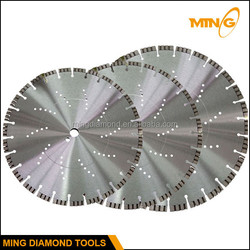 """12"""" 14"""" 16"""" 18"""" 20"""" Cutter Diamond Concrete Cutting Blade and Asphalt Cutting Blade Used On Hand Held Saw Machine"""