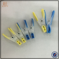 High quality hanging soft plastic white clothes grip pegs
