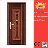 Modern wrought security cardboard honeycomb door SC-S129