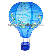 Lighting Frog hot air balloon paper lantern