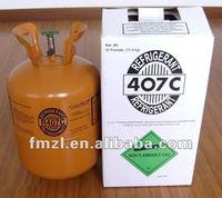 Air Conditioner r407c Environmental Friendly Refrigerants Gas with compressor