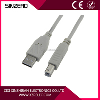 USB shielded high speed cable 2.0 data line usb am to bm printer cable