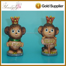 Handmade Polyresin Monkey Sculpture for Home decoration Craft