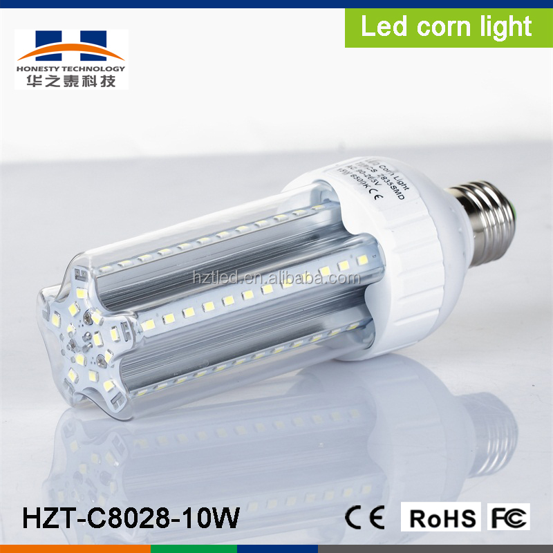 E27/E40 10W SMD2835 60pcs 900-950LM White low power LED corn light(AC90-260V)