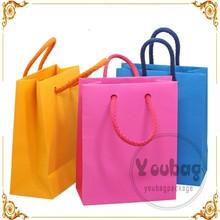 New Popular paper bag packaging, packaging paper bag, custom paper bag