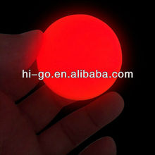2013 new arrival PU glow beach ball