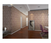 2015 new natural 3d wallpaper decoration from China Senry Meadow