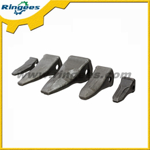 High quality excavator forged bucket tooth for Caterpillar, professional forged bucket teeth supplier