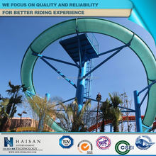 oem new arrail outdoor plastic water slides factory in china