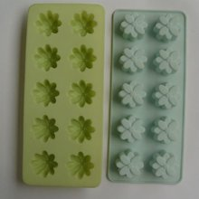 10 cups mini daisy flower shape ice cube tray