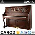 88 teclas solid teclado de madera y latón partes de piano Carod piano