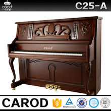88 keys solid wooden keyboard and brass piano parts Carod piano