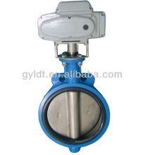 Motorized butterfly valves DN250