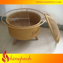 24.5 Inches Metal Fire Pit