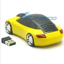 New Wireless Laser Mouse 2.4G USB Optical 3D Car shape Mouse