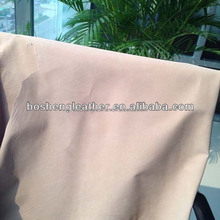 SPLIT LEATHER BEIGE COLOR FROM LEATHER FACTORY