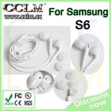 100% Original headphone genuine earphone headset for Samsung earphone S6 High quality in ear headphone with original retail box