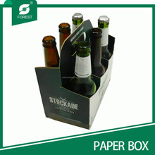 2015 CARDBOARD CORRUGATED CARTON BEER CARRIER EP87940211