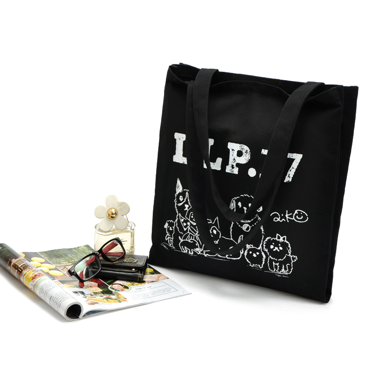 customized promotion recyclable cotton canvas tote bag