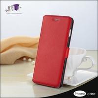 custom leather flip case for mobile phone