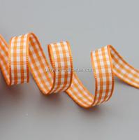 "3/8"" 10 mm Grosgrain Ribbon Plaid Tartan Double-face trim"