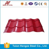 Roofing sheet/metal building materials/container house price From Shandong Manufacturer