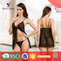 Made in China Modern Nylon Minimizer Mature Women Sexy Lingerie