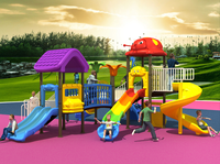 2015 large luxury outdoor school playground for play fun