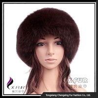 CX-C-156D New Design Women Fashion Animal Fur Hat