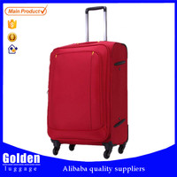 Baigou factory product new developed luggage bags selling well to South America good quality trolley bags customized logo accept