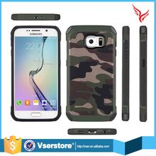5 inch size phone case cover for samsung galaxy S6 edge desire Camouflage plastic tpu phone case