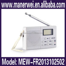 Best selling good quality two way portable mini speaker digital am fm radio