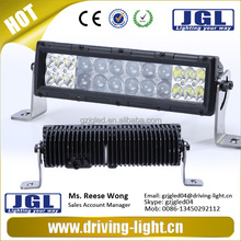 JGL manufacturer! IP67 RoHS LED CREE led working bars for jeep cars headlight bars with straight housing 24v