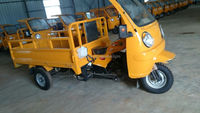 chinese popular KD-T001 cheap petrol motor cargo tricycle with cabin