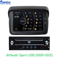 PENHUI Car DVD For Mitsubishi Pajero Sport L200 (2009-2013) Support RDS+USB+SD+ATV+Visuc 8 disc+SWC+Can Bus Car Navi Car Video