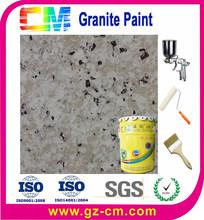 Liquid granite spray for exterior multi color modern textured marble finish coating