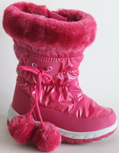 kids snow boots factory prices wenzhou shoes K39125