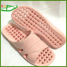 2015 Women foam sole bedroom and bath slipper with puncture hole easy to clean