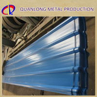 high quality and competitive price of color coated corrugated ppgi roofing sheet