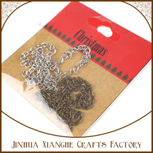 charm pendant chains for craft and jewellery making,ancient bronze chains for pendant charm
