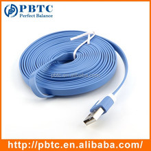 New Product 3M Blue Noodle Flat Usb Cable Structure