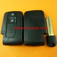 High quality Toyota Daihatsu 2 button remote key blank toyota smart key 2 button
